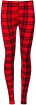a2z4kids Girls Leggings Kids Tartan Check Print Trendy Fashion Legging New Age 7-13 Years