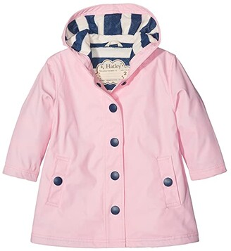 Hatley Classic Pink Splash Jacket (Toddler/Little Kids/Big Kids) (Pink) Girl's Coat