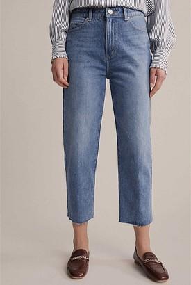Witchery High Waist Straight Jean