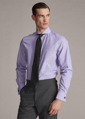Ralph Lauren Keaton Plaid French-Cuff Shirt