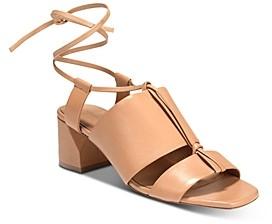 Vince Women's Dunaway Ankle Tie Sandals