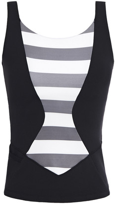 Perfect Moment Striped Stretch Top