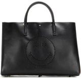 Anya Hindmarch Ebury Maxi Wink Leather Shopper