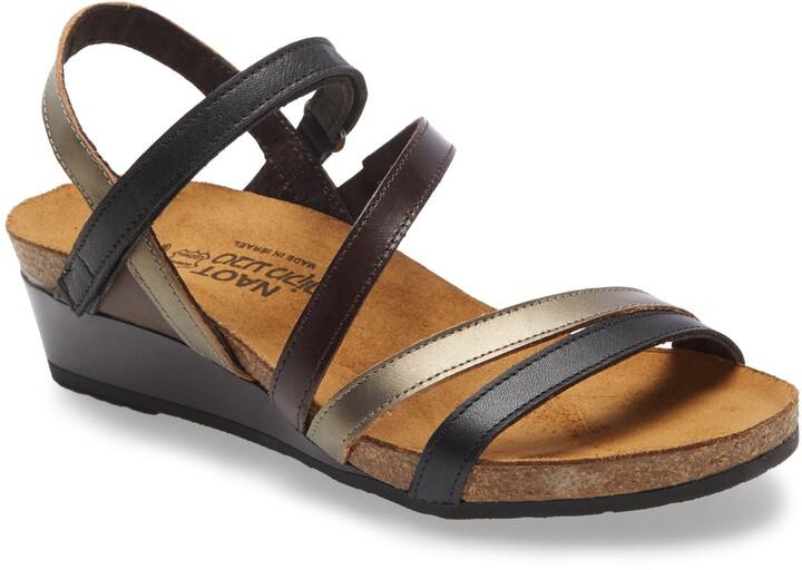 Naot Footwear Hero Strappy Wedge Sandal