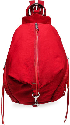 Rebecca Minkoff Leather-trimmed Shell Backpack