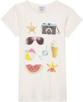 Wildfox Couture Beach Essentials cotton T-shirt 7-14 years
