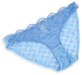 Stella McCartney Rachel Shopping Lace Bikini Briefs, Shirting Blue