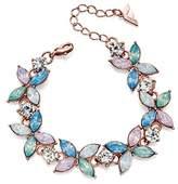 Fiorelli Costume Fashion Opal Pastel Flower Bracelet