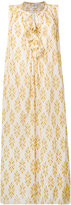 Forte Forte tie neck dress - women - Silk/Cotton - III