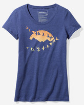 Eddie Bauer Women's Graphic Short-Sleeve T-Shirt - Flying Geese