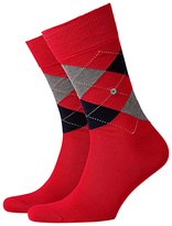 Burlington Manchester Short Socks, One Size, Red