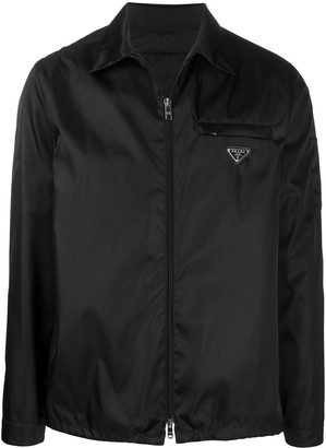 Prada Zipped Shirt Jacket