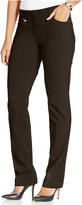 JM Collection Petite Slim-Leg Pants, Only at Macy's