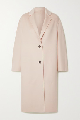 Joseph Newman Wool And Cashmere-blend Coat - Off-white