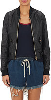 Chloé WOMEN'S LEATHER BOMBER JACKET