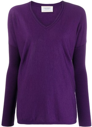 Snobby Sheep Sophia loose-fit jumper
