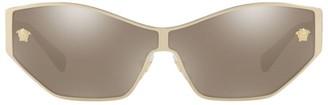 Versace 0VE2205 67MM Shield Sunglasses