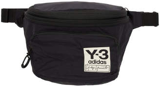 Y-3 Black Packable Backpack Pouch