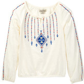 Lucky Brand Peasant Top (Big Girls)