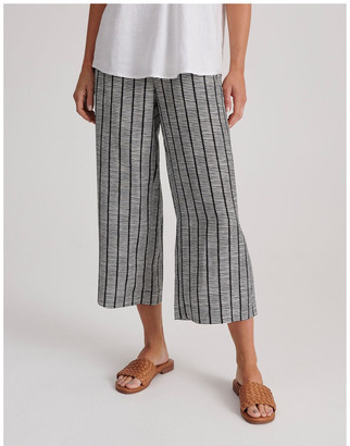Regatta Flat Fronted Wide Leg Crop Pant