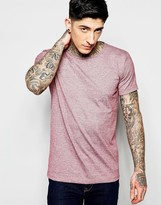 Lindbergh T-Shirt in Red Marl