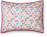 Pillowfort Triangle Pillow Sham (Standard) Pink