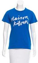 MAISON KITSUNÉ Printed Short Sleeve T-Shirt w/ Tags
