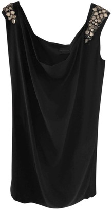 Hotel Particulier Black Silk Dress for Women