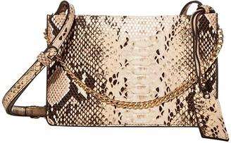 Sole Society SOLE / SOCIETY Gigi Crossbody (Blush Snake) Handbags