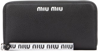 Miu Miu Madras Continental Wallet