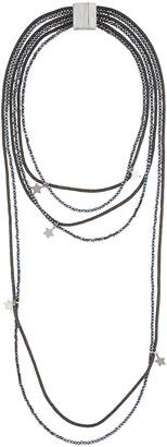 Lorena Antoniazzi Star Pendant Wrap Necklace
