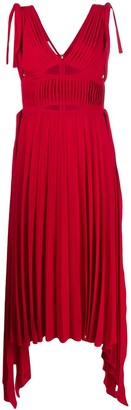 Atu Body Couture Asymmetric Hem Maxi Dress