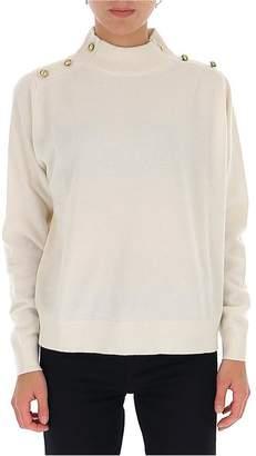 MICHAEL Michael Kors Button Detail Pullover