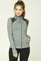 Forever 21 Active Marled Knit Jacket