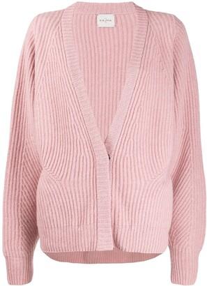Le Kasha Ecosse oversized cashmere cardigan