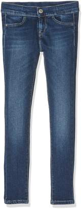 Pepe Jeans Girl's CUTSIE Jeans Blue (Denim) 16 Years (Manufacturer size: 16)