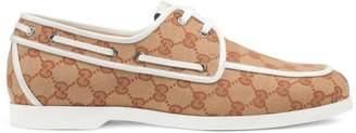 Gucci Vintage Boat Shoes