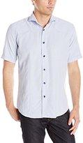 Bogosse Men's Mini Carl 85 Short Sleeve Button Down Shirt