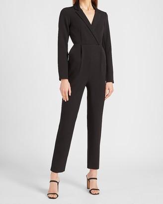 Express Long Sleeve Blazer Jumpsuit