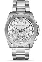 Michael Kors Brecken Chronograph Stainless Steel Bracelet Watch