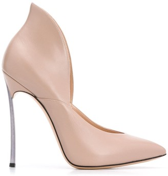 Casadei 125mm Sculpted Pointed Pumps