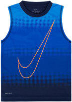 Nike Boys 4-7 Sublimated Logo Muscle Tank Top