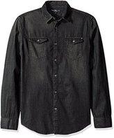 Calvin Klein Jeans Men's Long Sleeve Denim Shirt