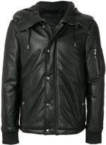 Diesel Black Gold padded hooded jacket