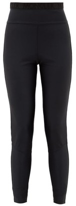 Moncler Stretch Tech-jersey Leggings - Black