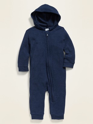 Old Navy Cozy Plus-Knit Hooded One-Piece for Baby
