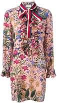 Gucci new flora print dress