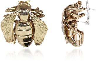 Big Bee Bronze Earrings