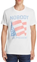 Junk Food Clothing Nobody For President Tee