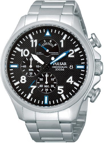Pulsar (パルサー) - Pulsar(パルサー) 腕時計 クオーツ スポーツ PS6049X1 メンズ メタルストラップ
